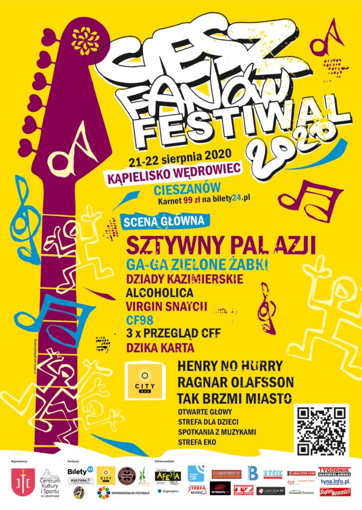 ciesz fanów festiwal plakat